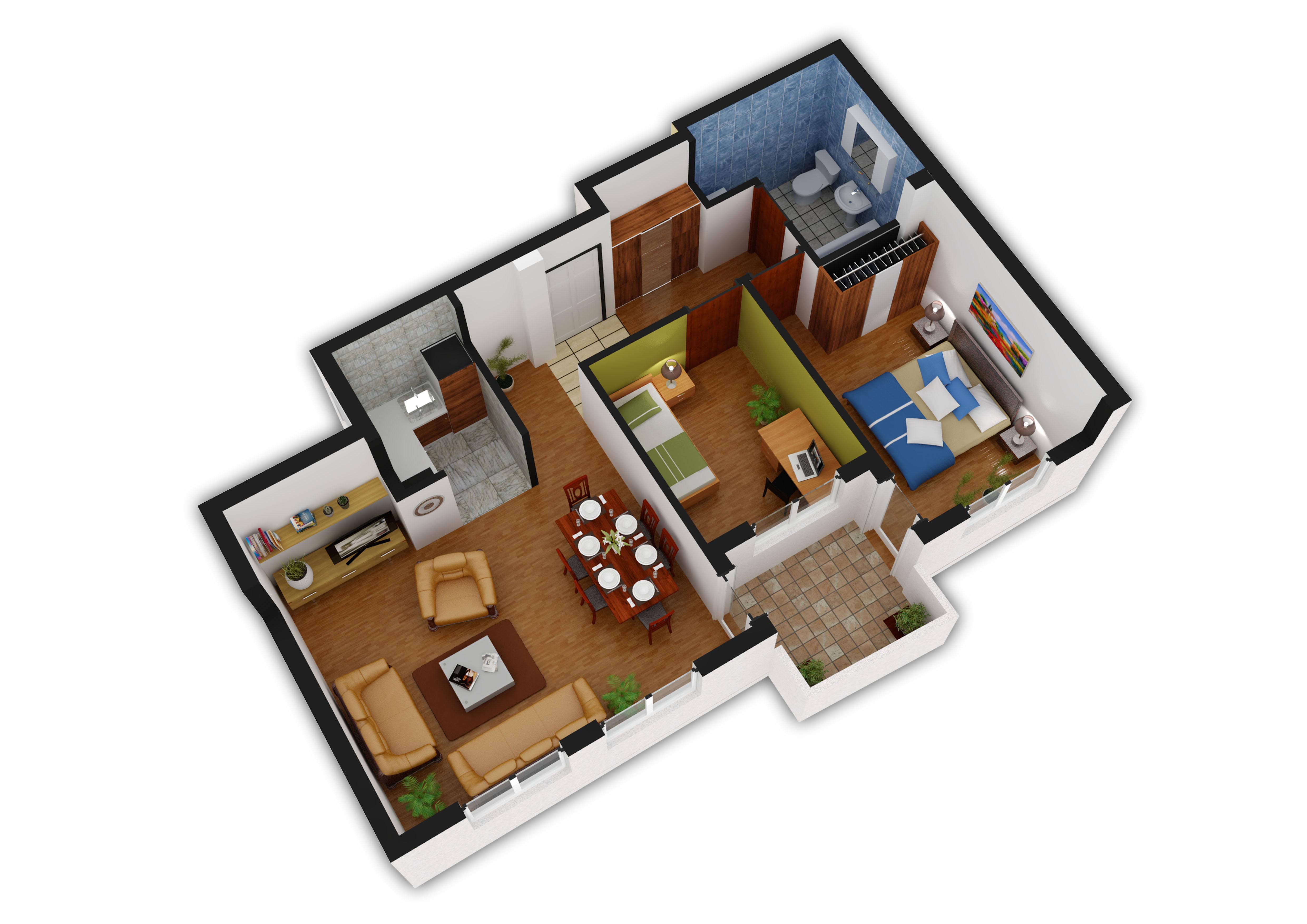 banovo brdo vase staji a 5 66m2 trosoban gramax. Black Bedroom Furniture Sets. Home Design Ideas