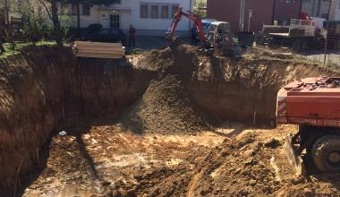 Pocetak izgradnje na lokaciji Vojvode Blazete br.16, Opstina Zvezdara, Olimp