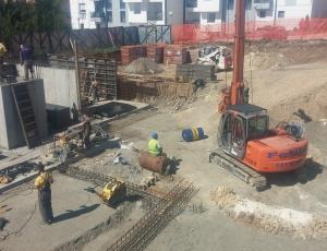 Početak izgradnje stambenog objekat na lokaciji Belo vrelo 56-58