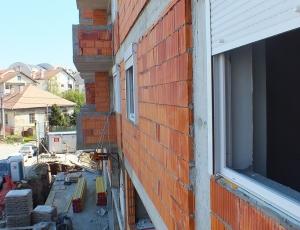 Radovi u toku na objektu Drage Spasić, Žarkovo
